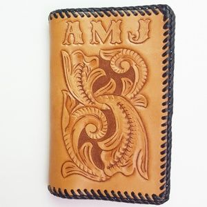 Tooled Leather Billfold